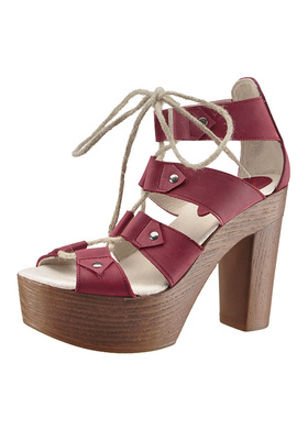 sandals Red Hot