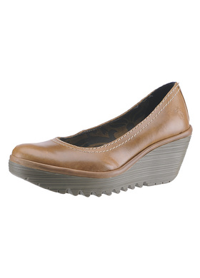 0097f119af89 pumps FLY London Yellow Yoni P500171026 camel - Women Pumps FLY ...