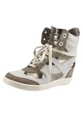 high top wedge sneakers Bronx Harlow 43730P