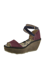 suede wedge sandals FLY London
