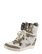 high top wedge sneakers Bronx